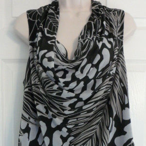 Dana Buchman sleeveless Polyester Lined Drop XL